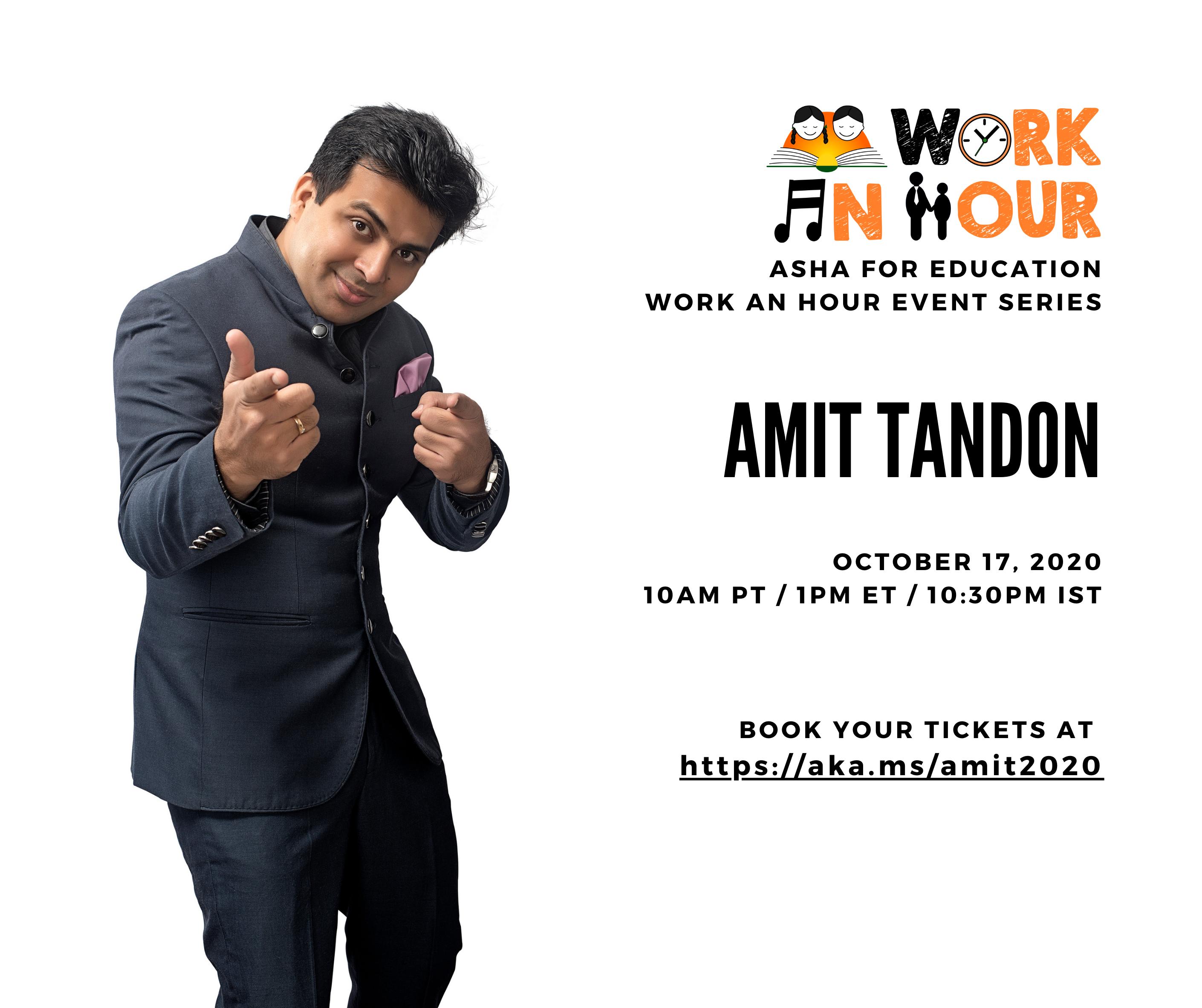 Amit Tandon Virtual Comedy Show!